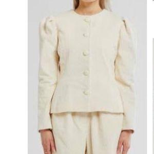 Storets Ellie Puff Sleeve Cord Jacket NWT